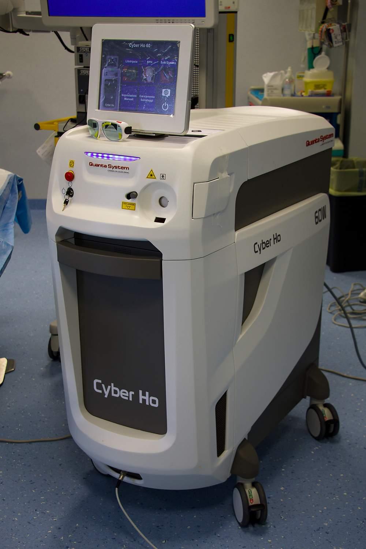 operazione alla prostata con laser machine